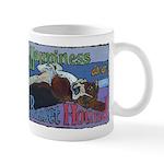 Happiness is a Basset Hound Mug