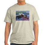 Happiness is a Basset Hound Light T-Shirt