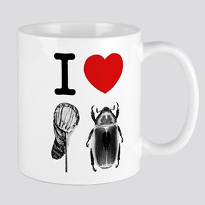 I Love Catching Beetles Mug