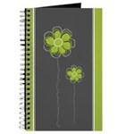 Trendy Floral Decor Journal