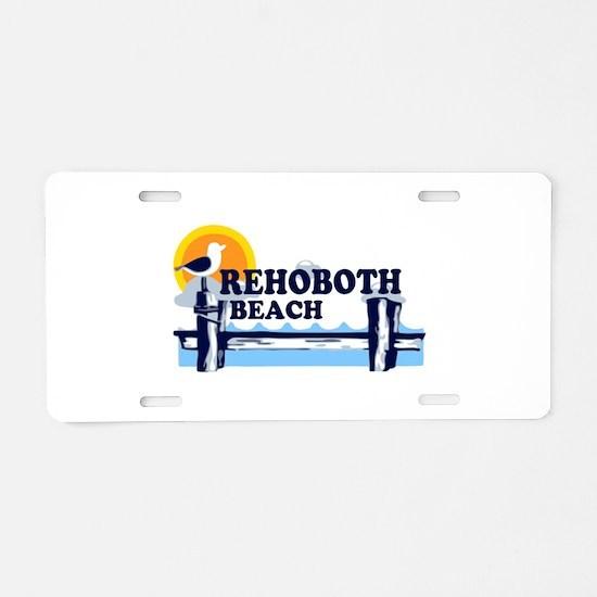 Rehoboth Beach DE - Beach Design Aluminum License