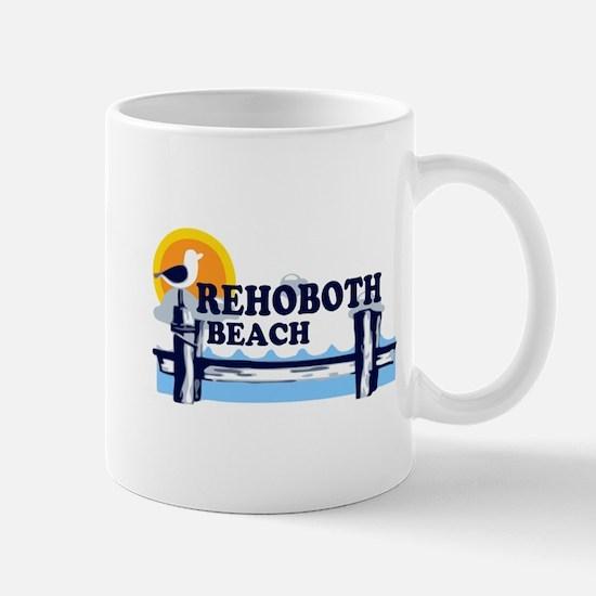 Rehoboth Beach DE - Beach Design Mug