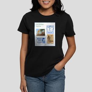 Flint Favorites Women's Dark T-Shirt