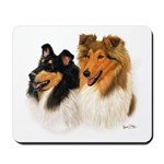 Rough Collie Mousepad
