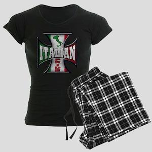 italian pride Women's Dark Pajamas