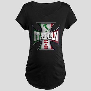 italian pride Maternity Dark T-Shirt