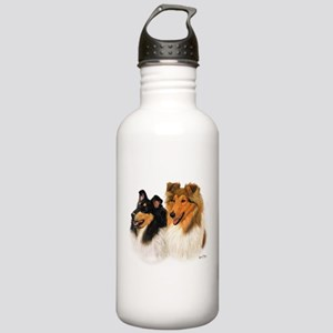 Rough Collie Stainless Water Bottle 1.0L