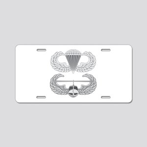 Airborne and Air Assault Aluminum License Plate