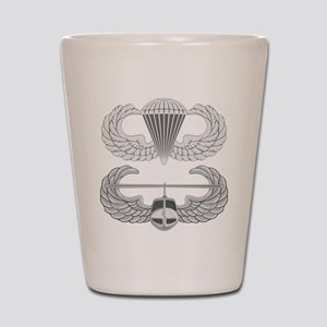 Airborne and Air Assault Shot Glass
