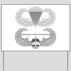 Airborne and Air Assault Yard Sign