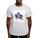 Illegals Ash Grey T-Shirt