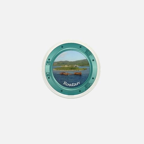 Roatan Porthole Mini Button