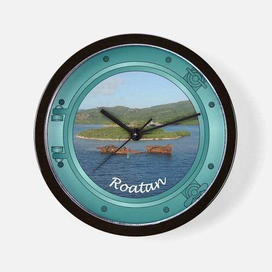 Roatan Porthole Wall Clock