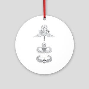 HALO JM Airborne Master Air Assau Ornament (Round)