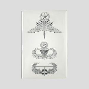 HALO JM Airborne Master Air Assau Rectangle Magnet