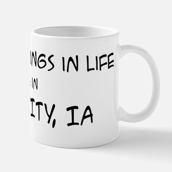 Best Things in Life: Iowa Cit Mug