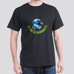 We Are All Immigrants Black T-Shirt