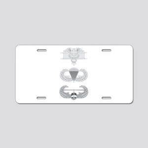 EFMB Airborne Air Assault Aluminum License Plate
