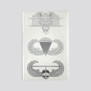 EFMB Airborne Air Assault Rectangle Magnet