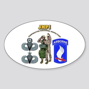 JMPI - 173rd Airborne Brigade Sticker (Oval)