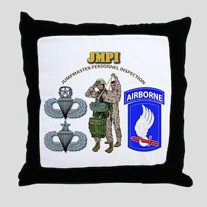 JMPI - 173rd Airborne Brigade Throw Pillow