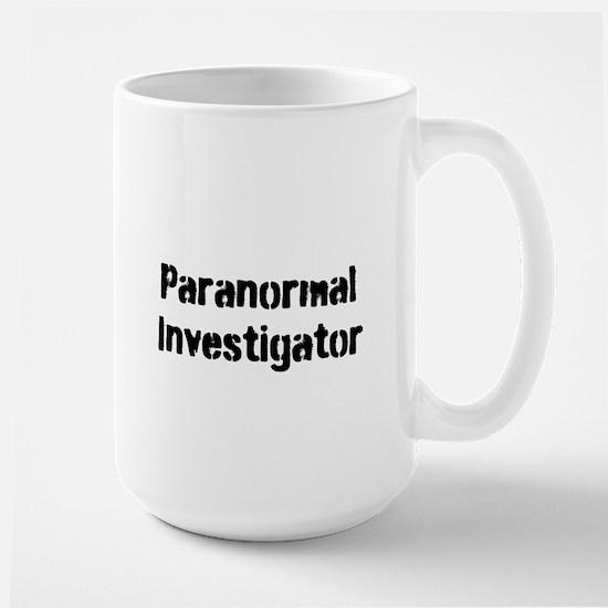 Paranormal Investigator Large Mug