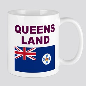 QLD-Maroon-Light Mugs