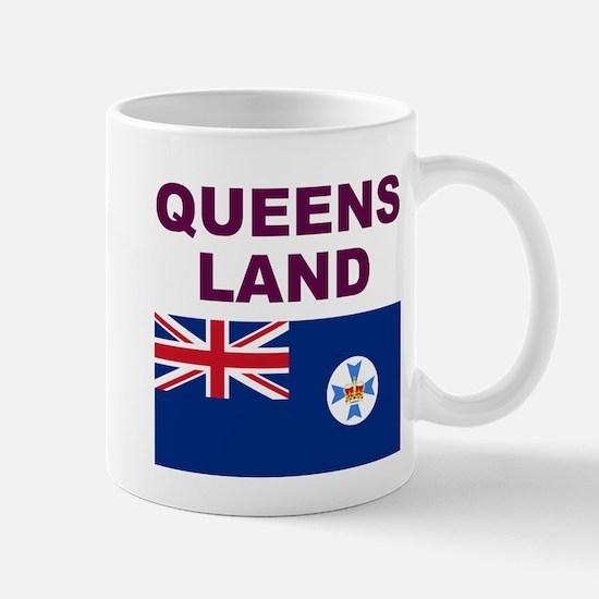 QLD-Maroon-Light Mugs