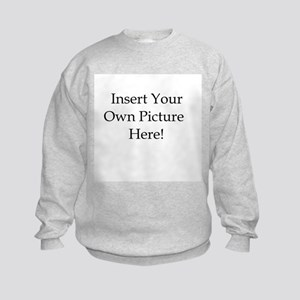 Upload your own picture Kids Sweatshirt