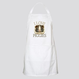 I Love Piggies Apron