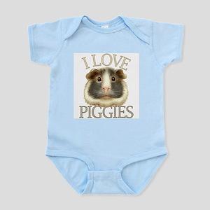 I Love Piggies Infant Bodysuit