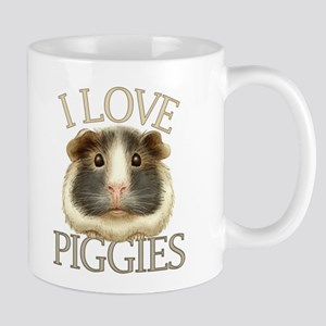 I Love Piggies Mug