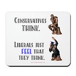 Conservatives vs Liberals Mousepad