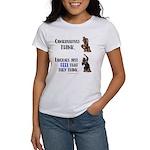 Conservatives vs Liberals Women's T-Shirt