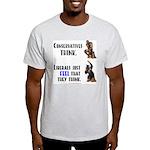 Conservatives vs Liberals Light T-Shirt