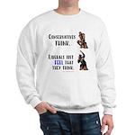 Conservatives vs Liberals Sweatshirt