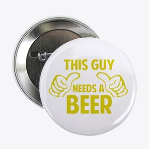 """BEER 2.25"""" Button"""