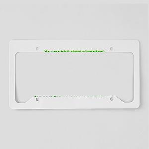 PSAAdvertisement License Plate Holder