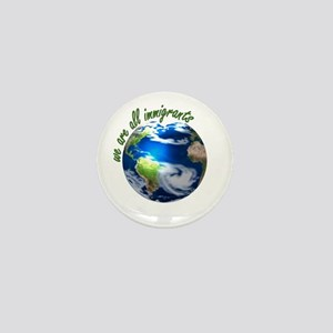 Humanist Approach to Immigration Mini Button