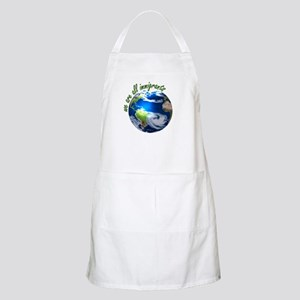Humanist Approach to Immigration BBQ Apron