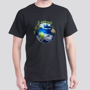 Humanist Approach to Immigration Black T-Shirt