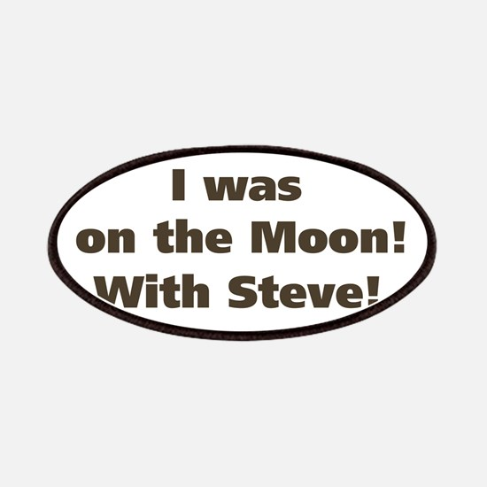 Moon with Steve Patches