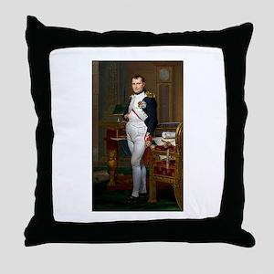 Napoleon in His Study Throw Pillow