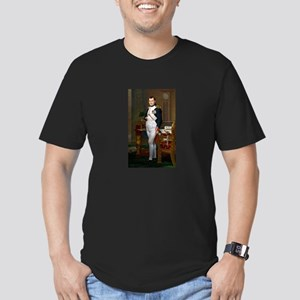 Napoleon in His Study Men's Fitted T-Shirt (dark)