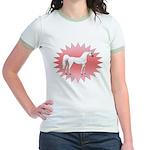 AmiShaklancirclestarpinkbkgrnd T-Shirt