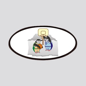 Penguin Basketball Patches