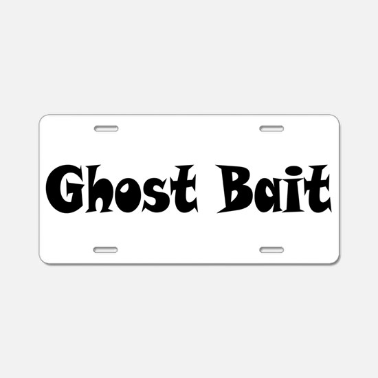 Ghost Bait Aluminum License Plate