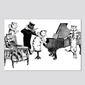 Cat Music Postcards (Package of 8)