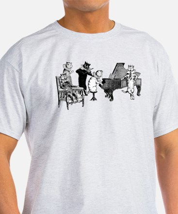 Cat Music T-Shirt