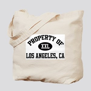 Property of Los Angeles Tote Bag